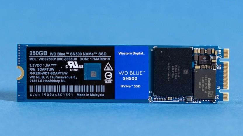 Western Digitals WD Blue SN500