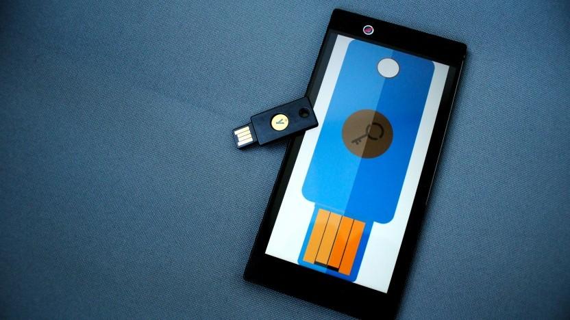 Das Smartphone als Fido-Stick.