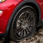 Uptis: Michelin stellt unplattbaren Autoreifen vor