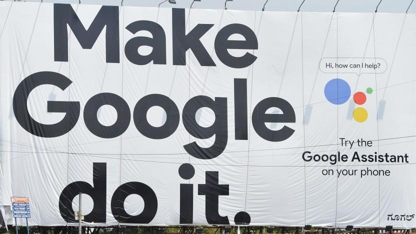Werbung von Google