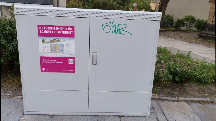 Vectoring-Ausbau in Dresden