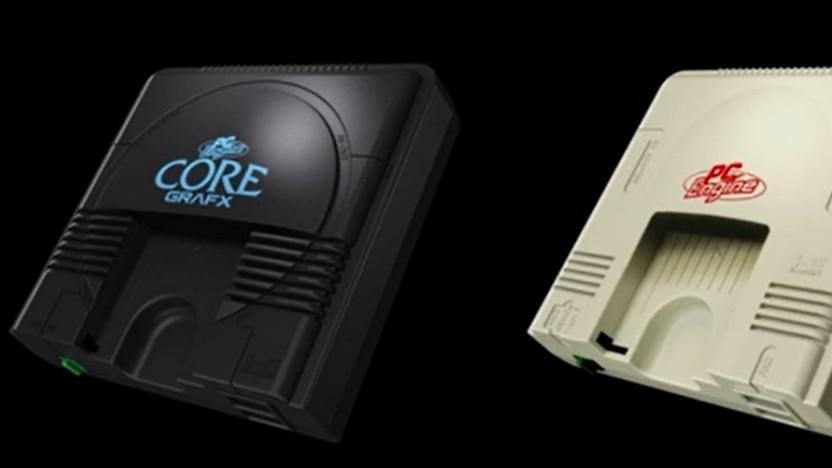 Die PC-Engine erscheint in verschiedenen Miniversionen.