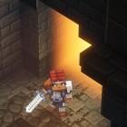 Minecraft Dungeons angespielt: Fehlt nur noch ein Klötzchen-Diablo in der Tiefe