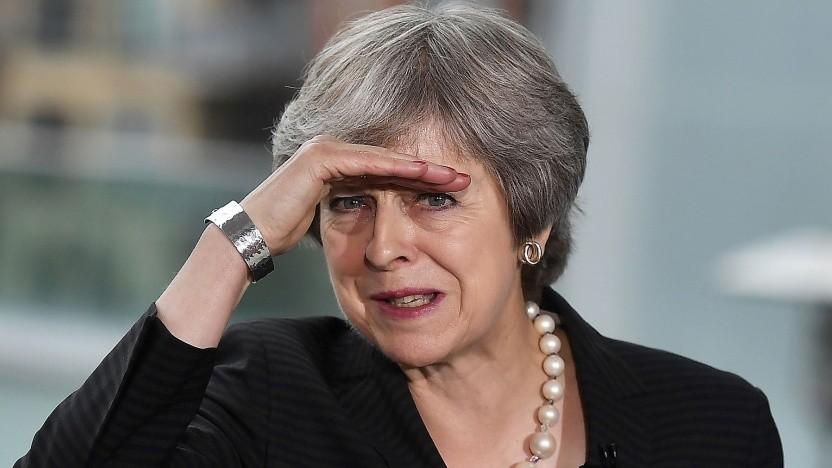 """Britische Premierministerin Theresa May: """"Warten ist keine Option."""""""