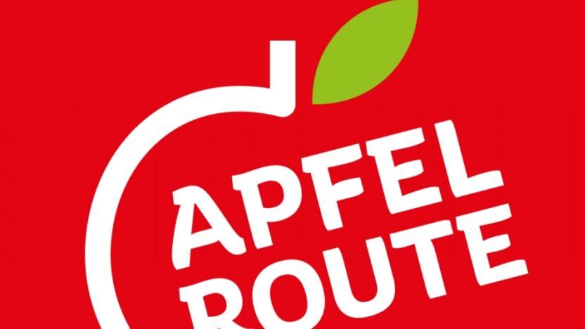 Das Logo für die Apfelroute kann so bleiben.