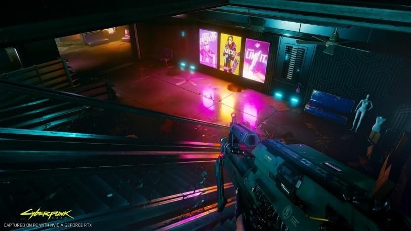 Cyberpunk 2077 mit DXR