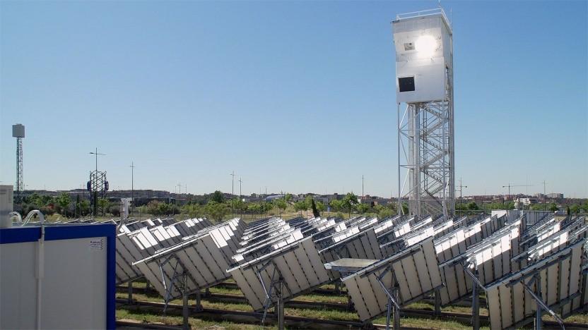 Solaranlage in Móstoles: 1.500 Grad in der Reaktorkammer