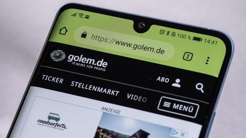 Huawei: Werbung auf Smartphone-Sperrbildschirmen war ein Versehen - Golem.de