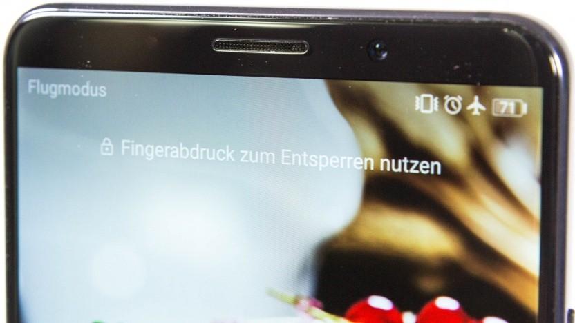 Huawei hat Werbung auf dem Sperrbildschirm ihrer Smartphones angezeigt.