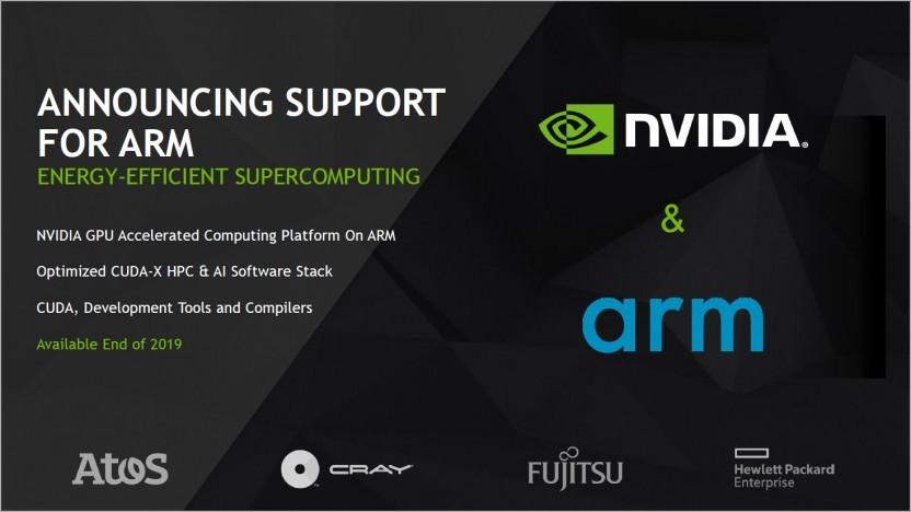 Nvidia öffnet Software-Stack für ARM-Supercomputer.