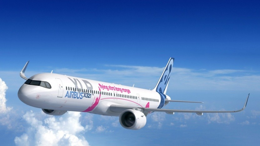 Rendering der noch nicht fertigen A321 XLR
