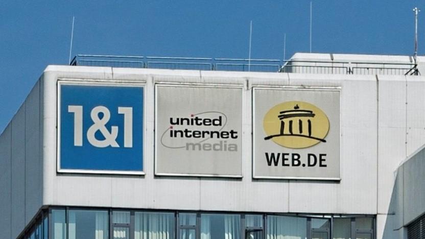 Sitz von 1&1 Internet in Karlsruhe