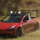 Simone Giertz: Pick-up aus Tesla Model 3 selbst gebaut