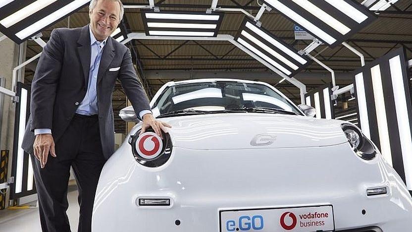 Campusnetz für die Industrie: Vodafone und e.Go