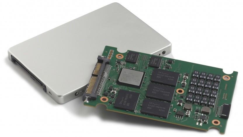 PE6000 mit eigenem Controller, DRAM und Flash