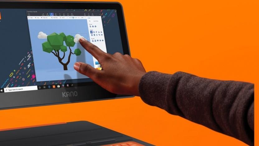 Der Kano-PC soll zum spielerischen Lernen einladen.
