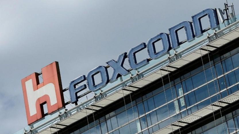 Foxconn Gebäude in Taipei, Taiwan