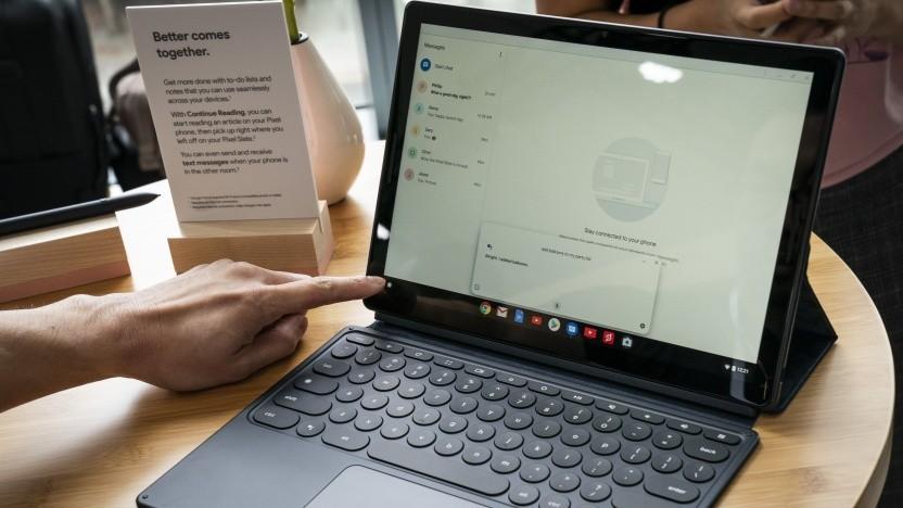 Das Pixel Slate bleibt Googles letztes Tablet.