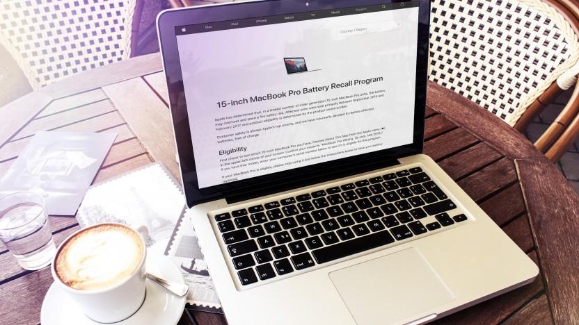 Apple legt ein Rückrufprogramm für einige Macbook Pro auf.