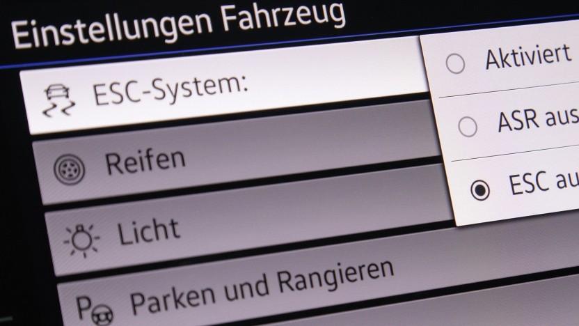 Software in der neuen Passat Variant R-Line von Volkswagen
