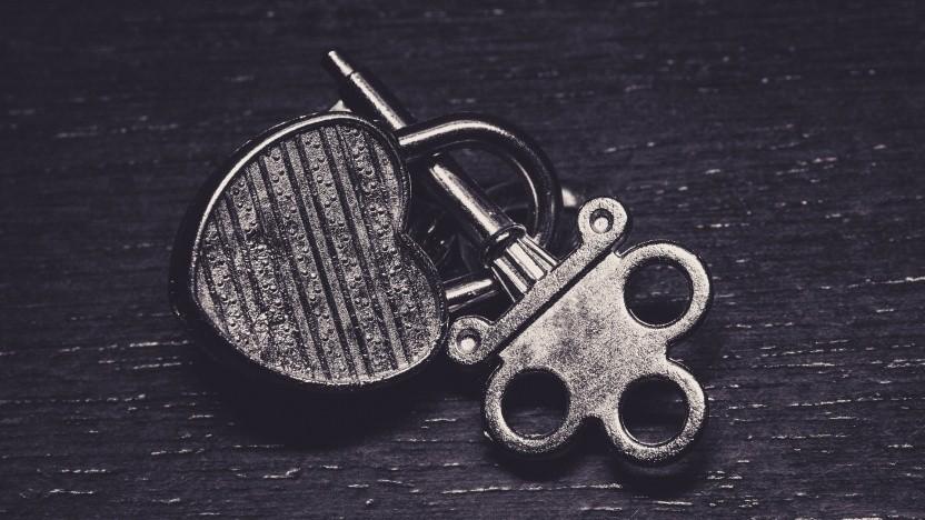 Ein verschlüsselter Schlüssel