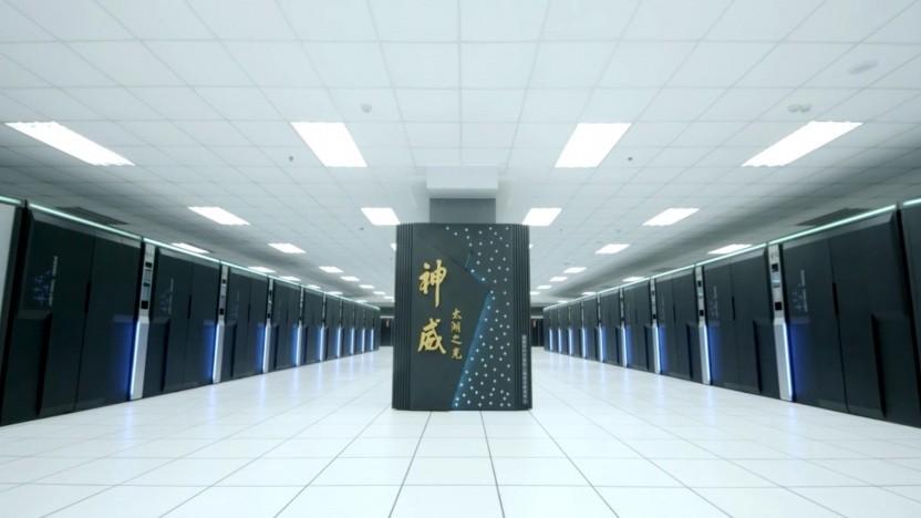 Sunway Taihu Light, der derzeit schnellste chinesische Supercomputer