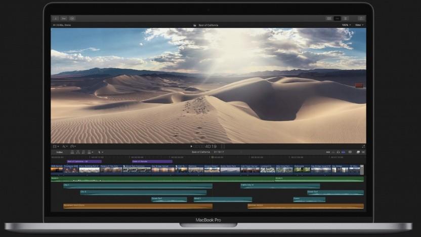 Final Cut Pro X auf einem Mac