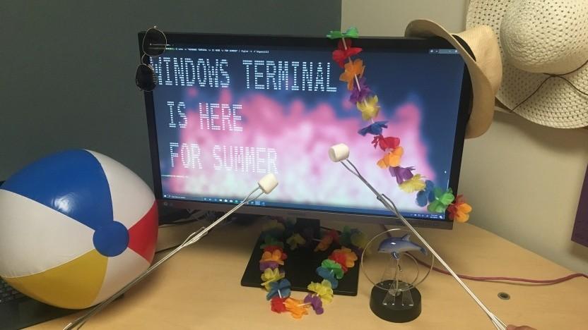 Pünktlich zum Sommer erscheint die erste Vorschau auf das Windows Terminal.