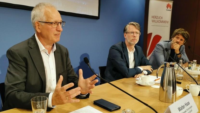 Walter Haas, Chief Technology Officer bei Huawei Deutschland