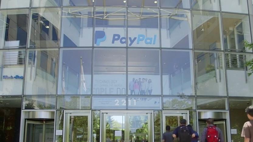 Paypal Standort