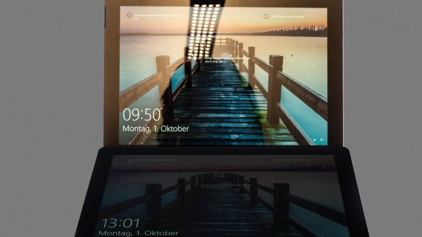 So wird das Dual-Screen-Gerät sicherlich nicht aussehen. (Symbolbild)