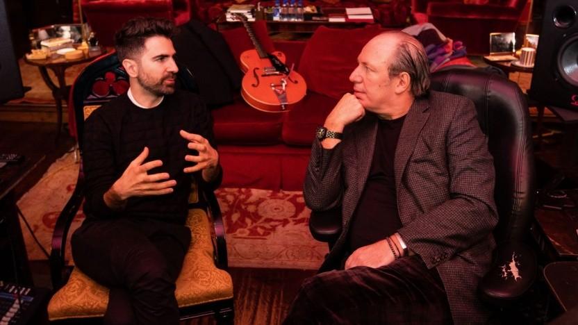 Komponist Hans Zimmer (r.) und BMW-Sounddesigner Renzo Vitale: Entfremdung zwischen Fahrer und Fahrzeug