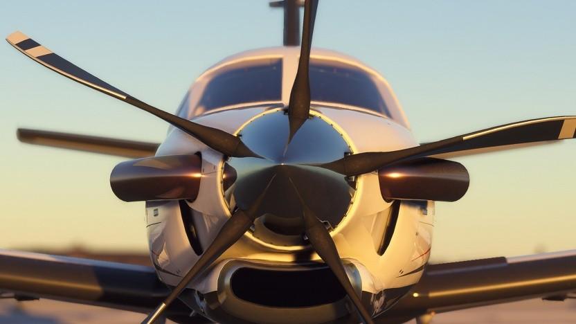Artwork des Flight Simulator