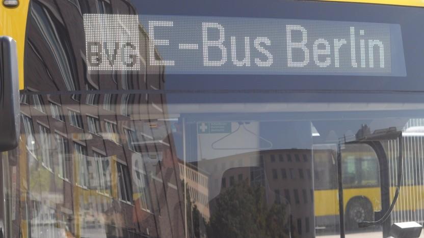 Berlin bekommt eine weitere E-Bus-Linie zum bereits fahrenden 204er (hier im Bild).