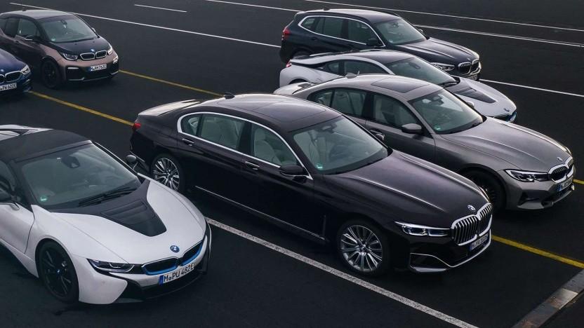 Plug-in-Hybride von BMW