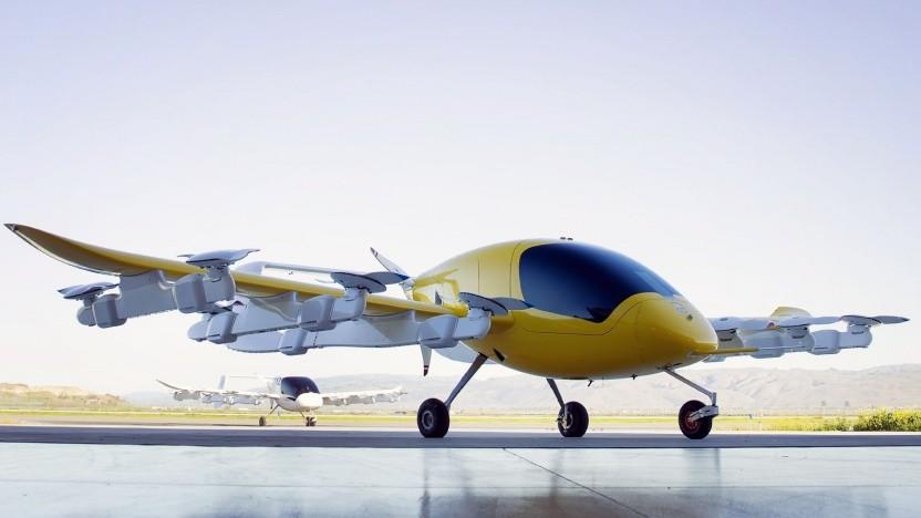 Kitty Hawks zweisitziges Lufttaxi Cora: Koexistenz von Fluggeräten mit einem Piloten an Bord und autonomen Fluggeräten
