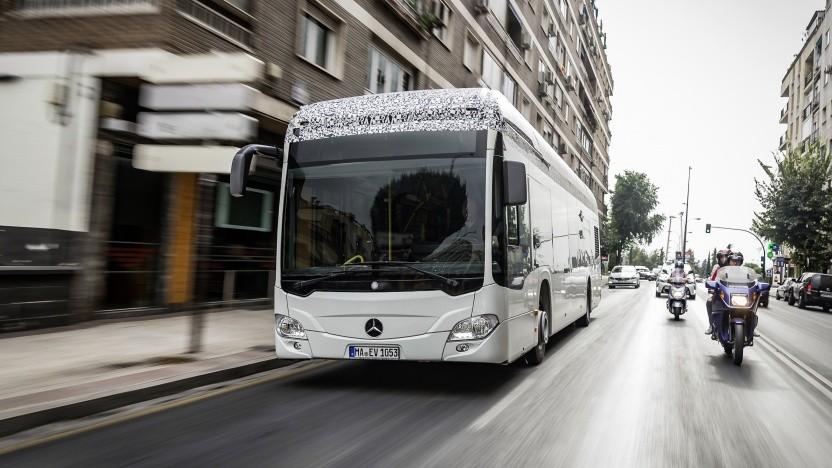 Berlin bekommt unter anderem elektrische Citaro-Busse.