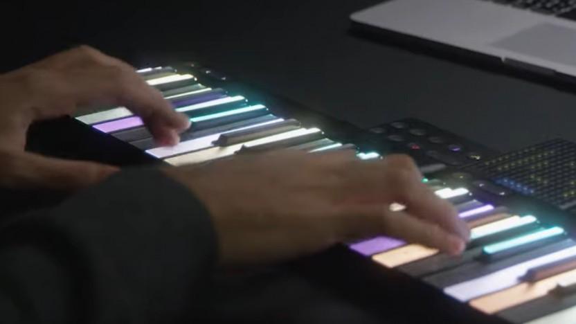 Roli Lumi: Mit LED-Keyboard und Guitar-Hero-Klon musizieren lernen - Golem.de