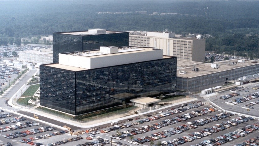 Das Hauptquartier der National Security Agency (NSA) in Maryland