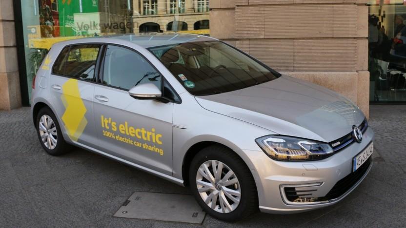 Der Carsharing-Dienst We Share ist in Berlin gestartet.