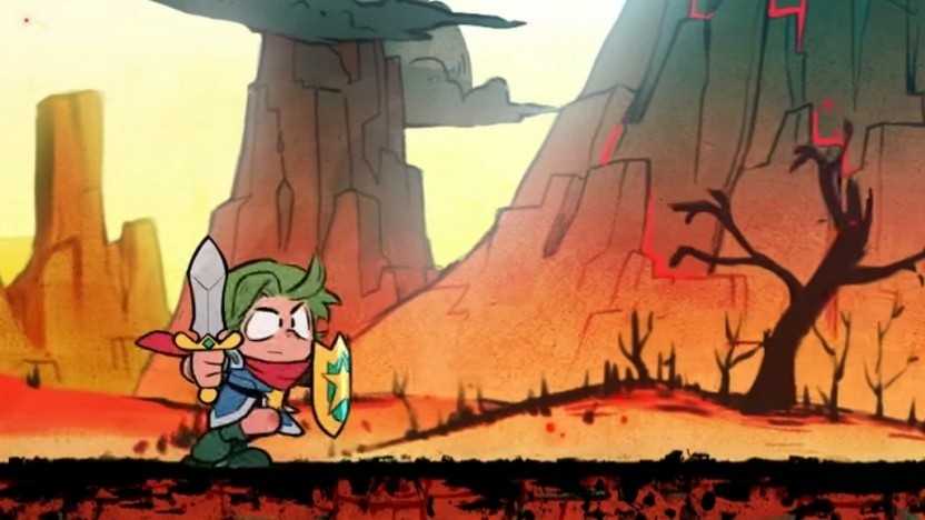 Artwork von Wonder Boy - The Dragon's Trap
