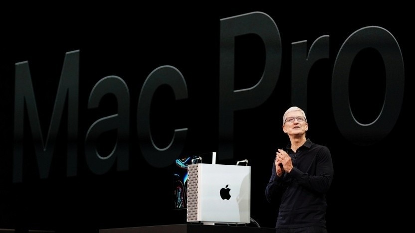 Tim Cook stellt auf der WWDC 2019 den Mac Pro vor: Komponenten aus mehreren Ländern