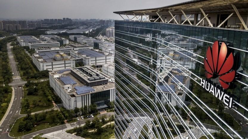 Firmenzentrale von Huawei in Dongguan (bei Shenzhen)