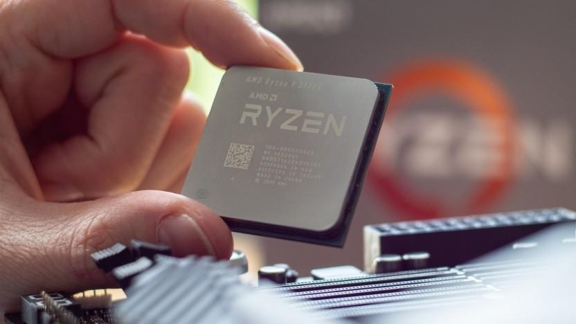 AMDs Ryzen 3900X mit zwölf CPU-Kernen