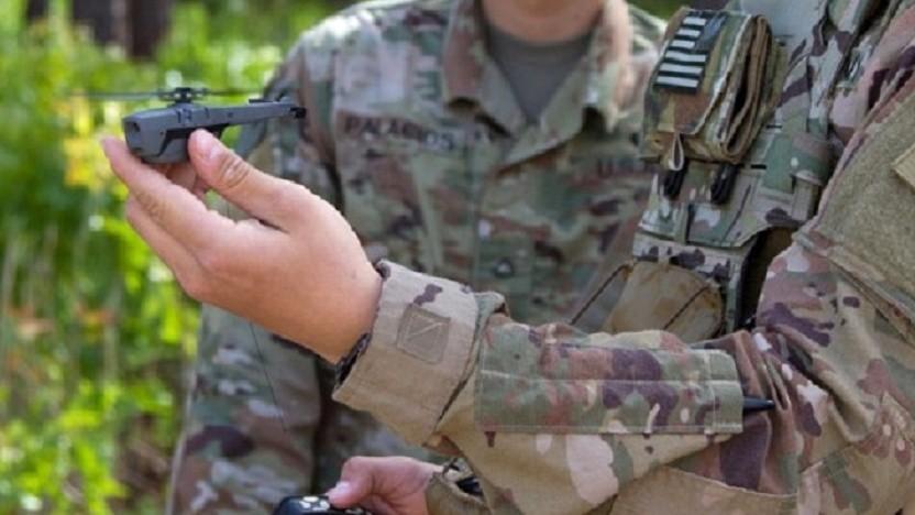 Die US Army will die Minidrohne im Gefecht erproben.