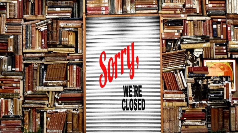 Microsofts E-Book-Store schließt.