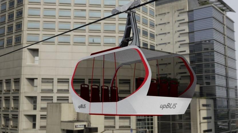 Upbus: Seilbahnen sind das sicherste Verkehrsmittel.