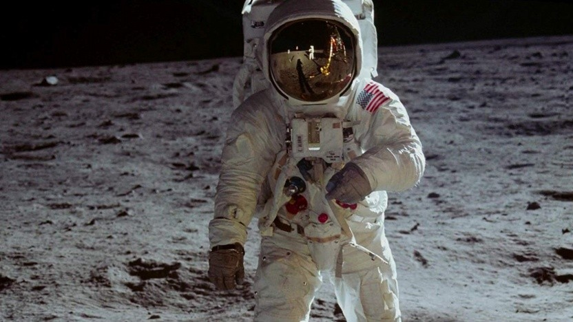 Buzz Aldrin in Apollo 11