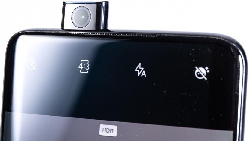 Die ausfahrbare Frontkamera des Oneplus 7 Pro