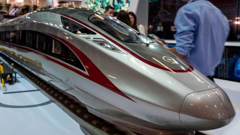 Chinas Züge erreichen besonders hohe Durchschnittsgeschwindigkeiten.